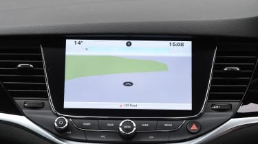 Vauxhall Astra - sat-nav