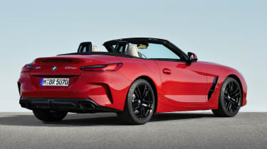 BMW Z4 - rear