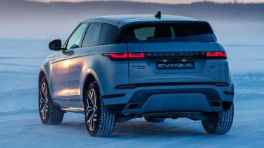 Range Rover Evoque prototype - rear static