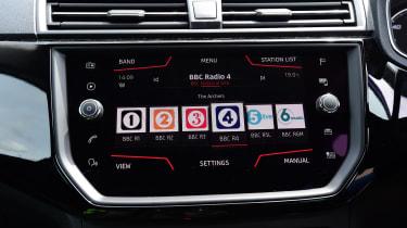 Ford Fiesta - screen