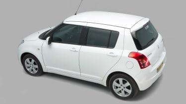 Used Suzuki Swift Mk5 - rear/above