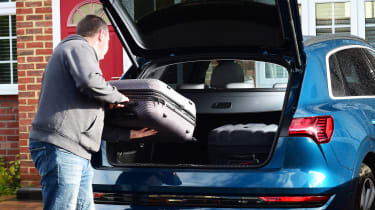 Audi e-tron long termer - final report boot
