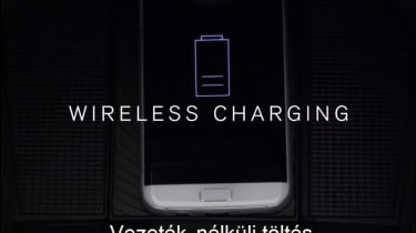 Volvo XC40 leaked - wireless charging