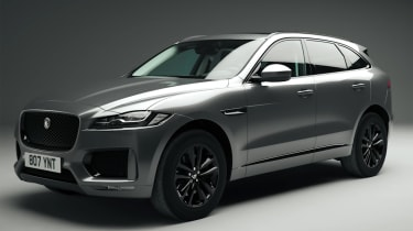 Jaguar F-Pace Chequered Flag - front