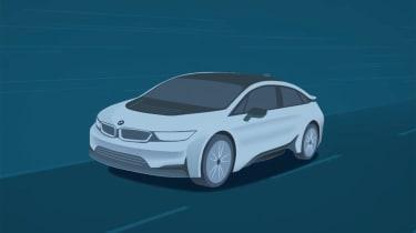 BMW i5 teaser video shot