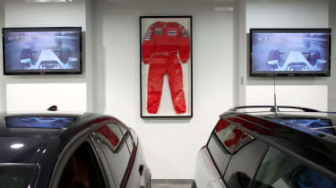 Nigel Mansell race suit