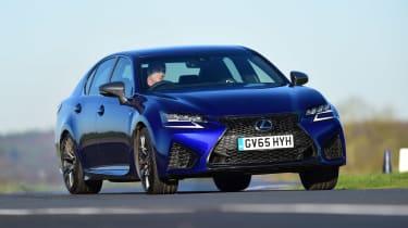 Lexus GS F - front cornering