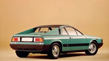 The striking mid-engined design of the Lancia Montecarlo earns it a place in our list of the greatest Lancias.