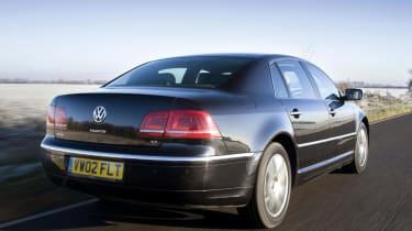 VW Phaeton V6 TDI rear