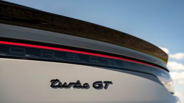 Porsche Cayenne Coupe Turbo GT - rear badge