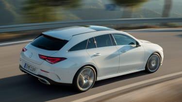 Mercedes CLA Shooting Brake - rear action