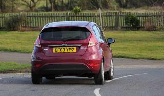 Ford Fiesta automatic 2014 rear
