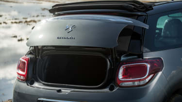 Citroen DS3 Cabrio boot lid