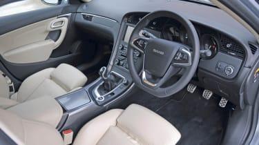 Saab 9-5 TTiD interior