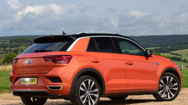 vw t-roc static rear