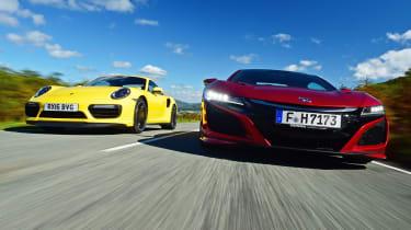 Honda NSX vs Porsche 911 Turbo - header 2