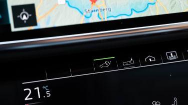 Audi A8 60 TFSI e - EV mode