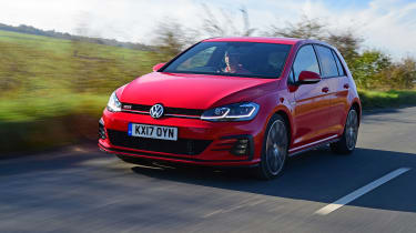 Volkswagen Golf GTI Performance Pack - front tracking