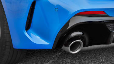 New BMW M135i 2019 1 Series exhaust