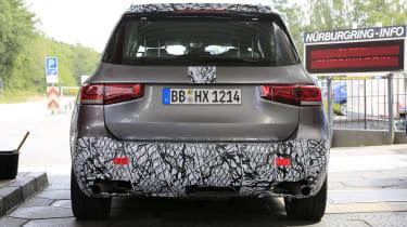 Mercedes-AMG GLB 45 - spied rear