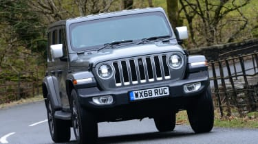 Jeep Wrangler - front
