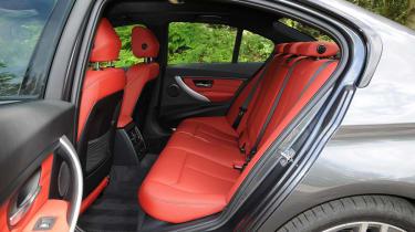 BMW 3 Series M Sport - rear seats