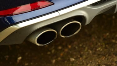 Audi S5 - exhaust