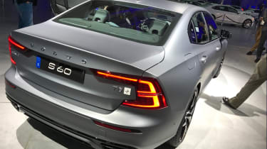 New Volvo S60 rear quarter