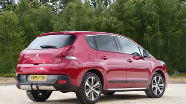 Peugeot 3008 - rear static