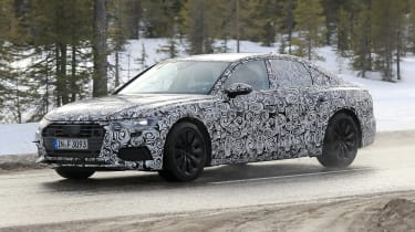 Audi A6 2018 spies side front
