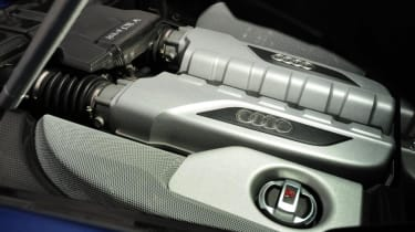 Used Audi R8 - engine