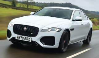 Jaguar XF facelift - front
