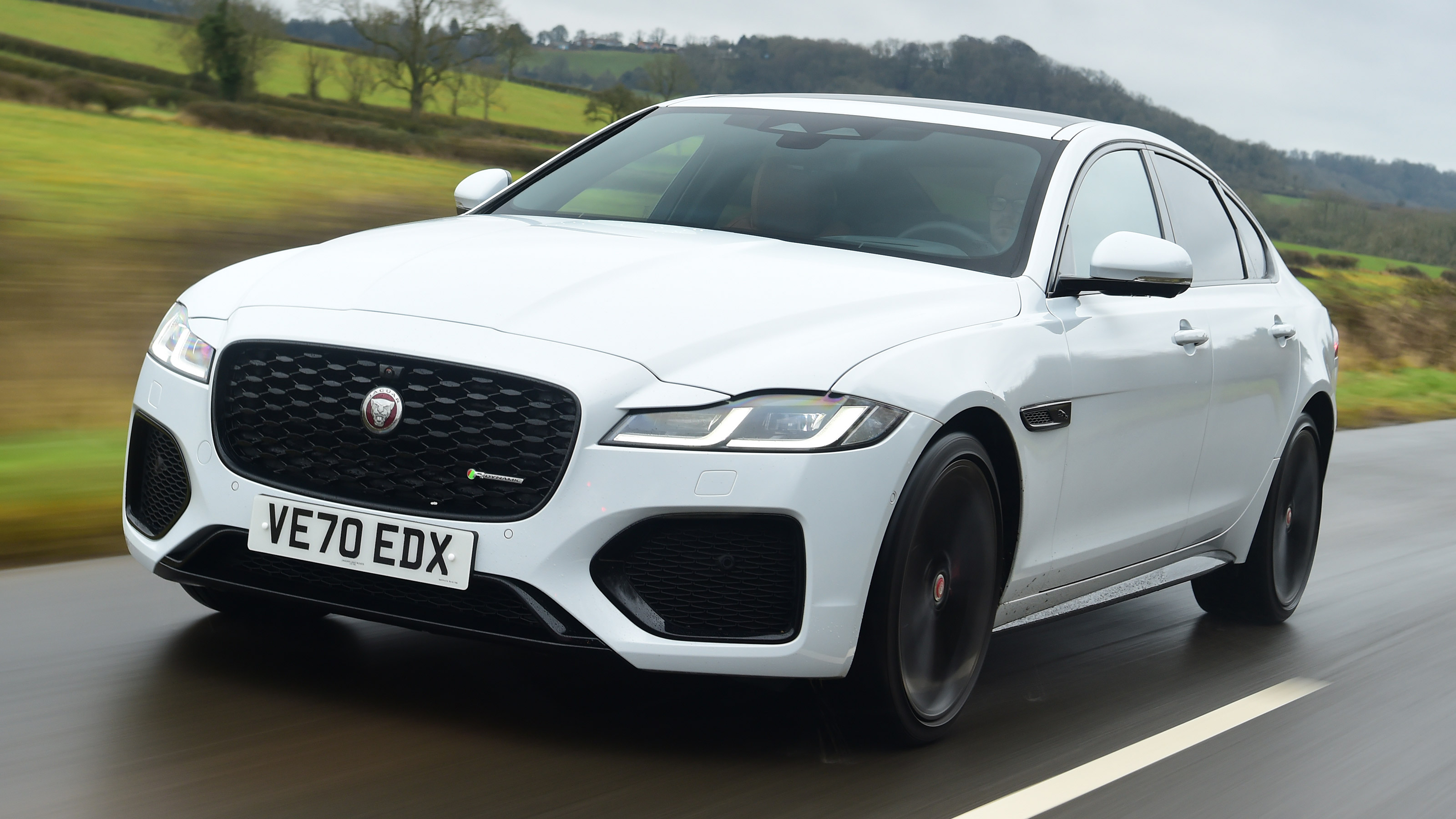 new jaguar xf 2021 review   auto express