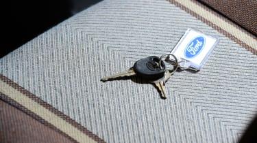 Ford Fiesta Mk1 - seats