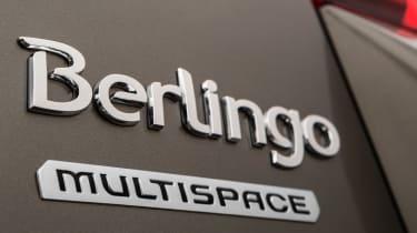 Citroen Berlingo Multispace 2015 badge