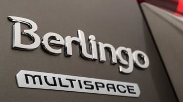 Citroen Berlingo Multispace 2015 badge