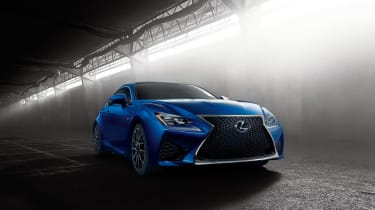 Lexus RC F V8 coupe location
