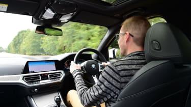 BMW 3 Series long term - Sean Golf driving