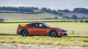 Nissan GT-R 2017 side