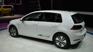 VW e-Golf 2017 - LA Motor Show rear