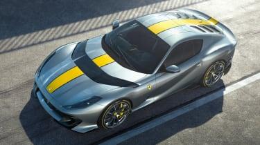 Ferrari 812 Superfast Versione Speciale - front above