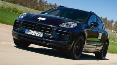 Porsche Macan prototype - front