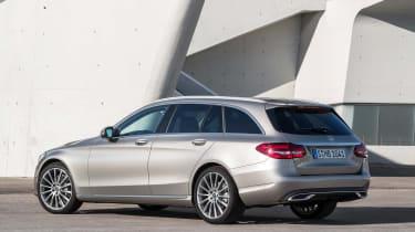Mercedes C-Class Estate - rear static
