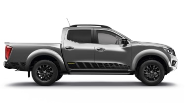 Nissan Navara N-Guard - grey side