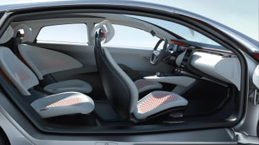 Renault EOLAB - seats