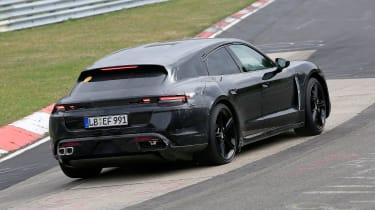 Porsche Taycan Sport Turismo - spyshot 6