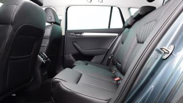 Skoda Superb Estate rear seats