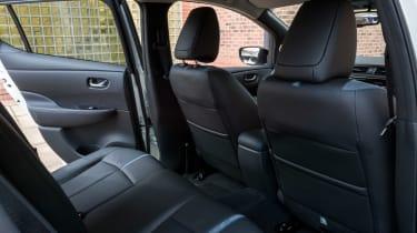 Nissan Leaf - rear seats
