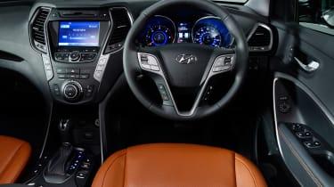 Used Hyundai Santa Fe - dash
