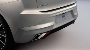 DS 4 - rear detail